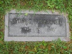 Lydia Grace <I>Burbank</I> Hungerford