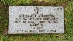Mary M Alderson
