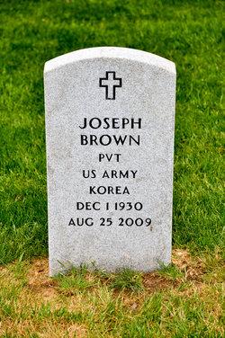 Pvt Joseph Brown