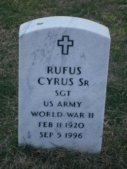Rufus Cyrus, Sr