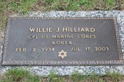 Willie J. Hilliard