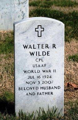 Walter Raymond Wilde