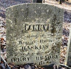 Fanny <I>Haskins</I> Beady