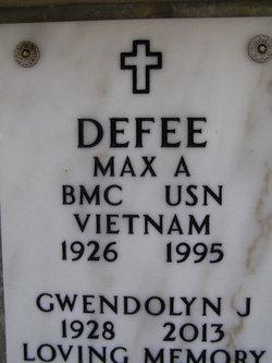 Max Allen Defee