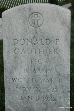 Donald P Gauthier