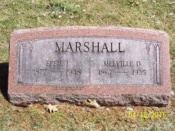 Effie I <I>Adams</I> Marshall