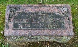 Mary E. <I>Steine</I> Johnson