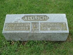 """Phoebe F. """"Belle"""" <I>Eagleton</I> Aldrich"""