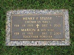 Henry F Stussy