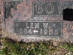 """Leonard William """"Len"""" Bowlsby"""