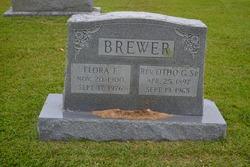 Flora E. <I>Bosley</I> Brewer