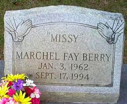 "Marchel Fay ""Missy"" Berry"