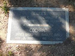 Madline Mary <I>Newnes</I> Cochran-Burr