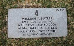 Alma <I>Daffern</I> Butler