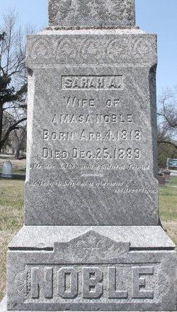 Sarah A. Noble