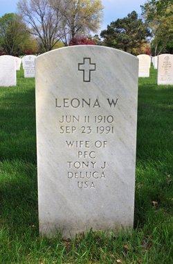 Leona W <I>Acker</I> DeLuca