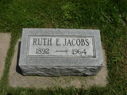 Ruth Esther <I>Brown</I> Jacobs
