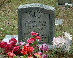 Nancy Malissa Hensley