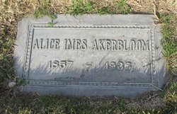 Alice May <I>Imes</I> Akerbloom