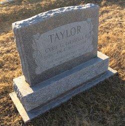 Cyril G. Taylor