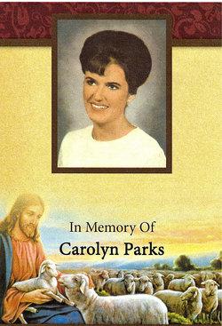 Carolyn <I>Frazier</I> Parks