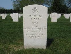 John M Gast