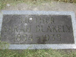 Sarah <I>Pearce</I> Blakely