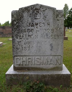 Vallie N. <I>Kelsey</I> Chrisman