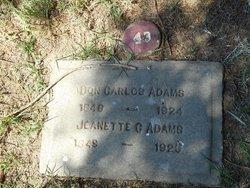 Don Carlos Adams