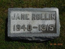 Rebecca Jane <I>Dye</I> Rollin