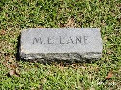 Martha E <I>Forrest</I> Lane