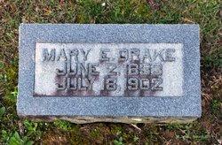Mary E <I>Aubrey</I> Drake