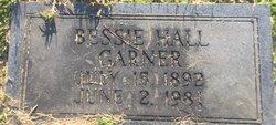 Bessie <I>Hall</I> Garner