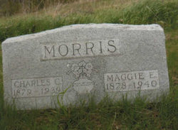 "Maggie Emma ""May"" <I>Whisler</I> Morris"