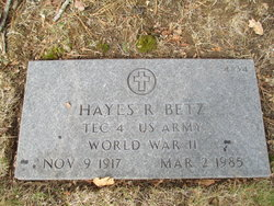 Hayes R Betz