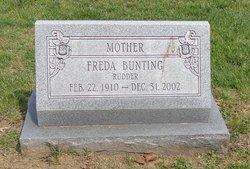 Freda M. <I>Rudder</I> Bunting