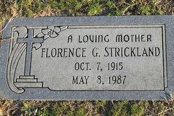 Florence <I>Gregory</I> Strickland