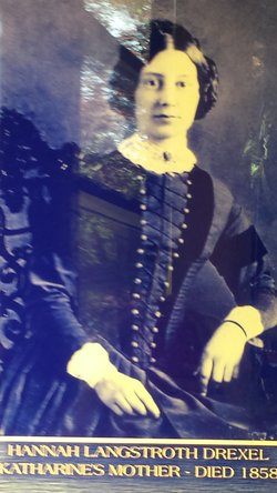 Hannah Jane <I>Langstroth</I> Drexel