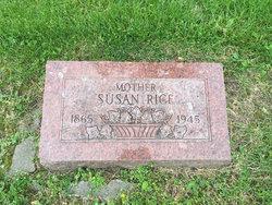 Susan A. <I>Steinsultz</I> Rice