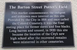 Barton Street Potter's Field (Defunct)