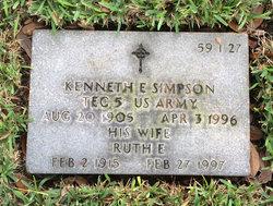 Kenneth E Simpson