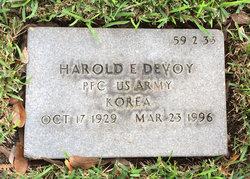 Harold E Devoy