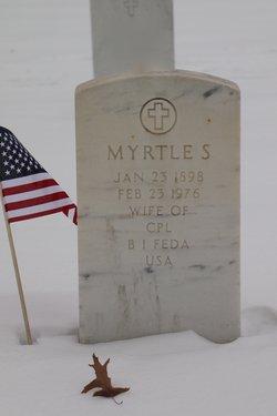 Myrtle S Feda