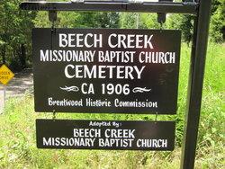 Beech Creek Baptist Cemetery (African-American)