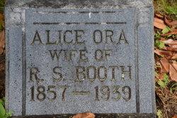 Alice Ora Booth