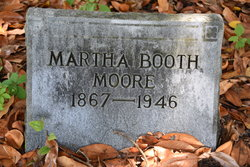 "Martha ""Mattie"" <I>Booth</I> Moore"