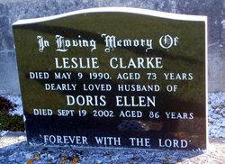 Doris Ellen <I>Gabites</I> Clarke