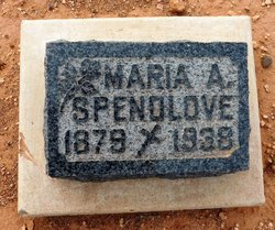 Maria Alice <I>Stratton</I> Spendlove