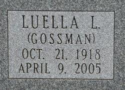 Luella Lucinda <I>Gossman</I> Bosse