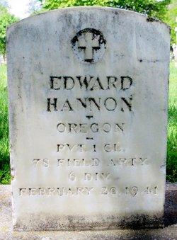 Edward Hannon